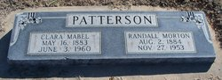 Clara Mabel <I>Garlow</I> Patterson