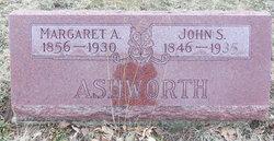 Margaret A. <I>Haston</I> Ashworth