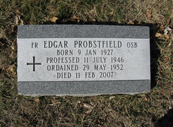 "Victor David ""Fr. Edgar"" Probstfield"