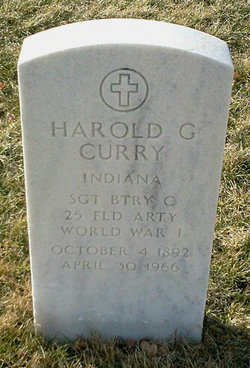 Harold G Curry