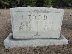 Martha E Todd