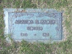 Amanda Ellen <I>Whaley</I> Rader