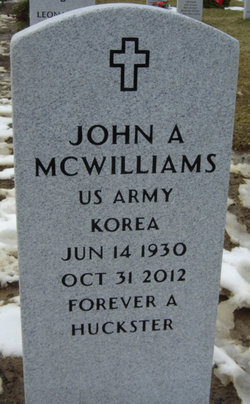 John A McWilliams
