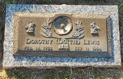 """Dorothy """"Dottie"""" Lewis"""