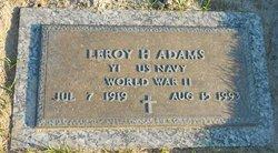 Leroy H. Adams