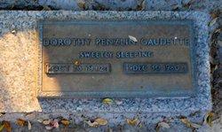Dorothy Lucillemarie <I>Penzlin</I> Gaudette