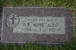 "Armonde Robert ""Monk"" Albo"
