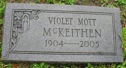 S Violet <I>Mott</I> McKeithen