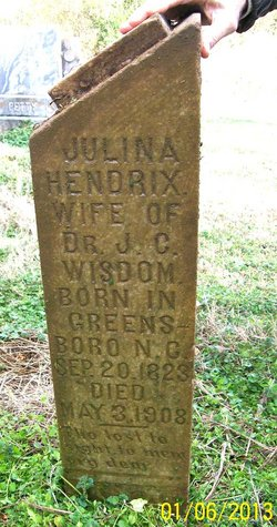 Juliana <I>Hendrix</I> Wisdom