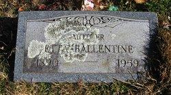 """Henrietta """"Etta"""" <I>Pullen</I> Ballentine"""