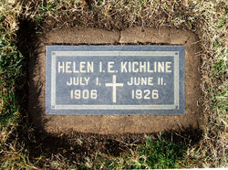 Helen Irine Elizebeth <I>Martin</I> Kichline