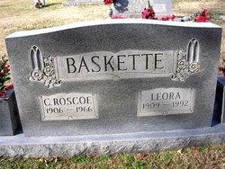 Leora <I>Wilhoit</I> Baskette