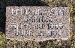 Lucinda Ann <I>Dilks</I> Barnes