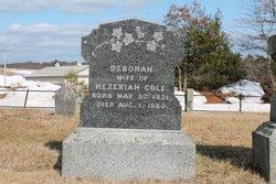 Deborah <I>Freeman</I> Cole
