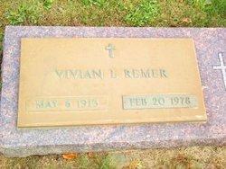 Vivian Lucille <I>Henderson</I> Remer