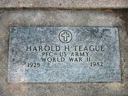 Rev Harold Hamner Teague