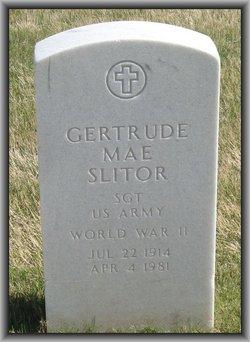 Gertrude Mae Slitor