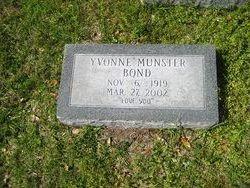 Yvonne <I>Munster</I> Bond