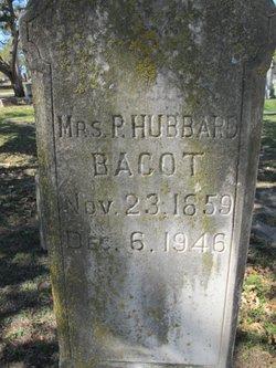 "Mrs Pensurela ""Pensie"" <I>Hubbard</I> Bacot"