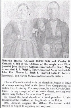Mildred <I>Hughes</I> Chenault