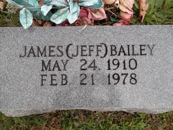 "James Stanley Buford ""Jeff"" Bailey"