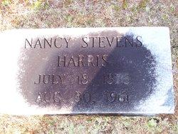 Nancy Jane <I>Stevens</I> Harris