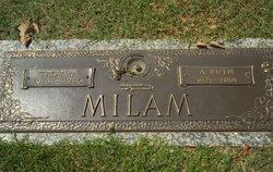 Annie Ruth <I>Herrin</I> Milam