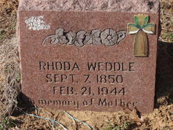 Rhoda Weddle