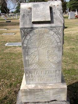 "Anna Isabelle ""Annie"" <I>Smith</I> Kinney"