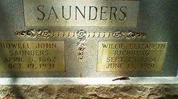 Willie Elizabeth <I>Richburg</I> Saunders