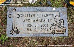 Shallyn Elizabeth Archambeault
