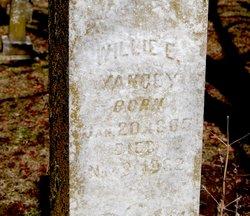 Willie Edna <I>Green</I> Yancey