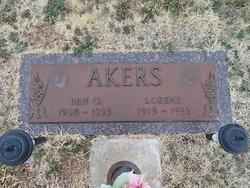 """Benjamin O. """"Ben"""" Akers"""