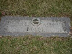 Lillian M <I>Erwin</I> Beach