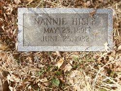Nannie Hisle