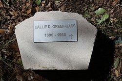 Callie D <I>Green</I> Bass