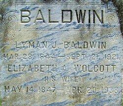 Elizabeth A <I>Wolcott</I> Baldwin