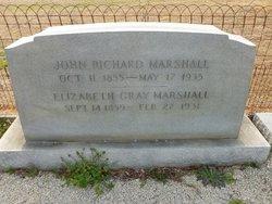 Elizabeth F <I>Gray</I> Marshall