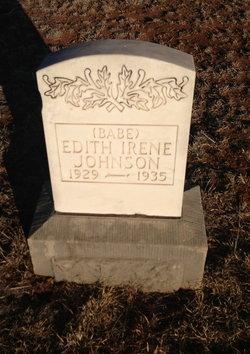 Edith Babe Irene Johnson
