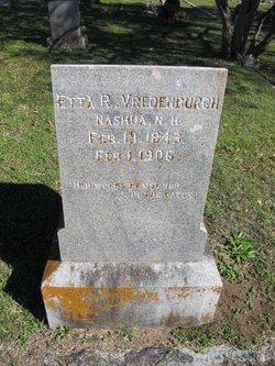 Etta R. Vredenburgh