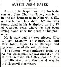 Austin John Naper