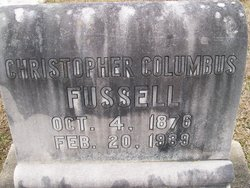 Christopher Columbus Fussell
