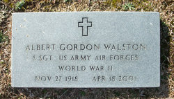 Albert Gordon Walston