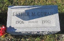 Esther M Cowan