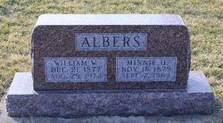 Minnie H <I>Thornton</I> Albers