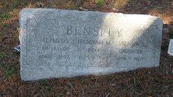 Hannah M. <I>Smith</I> Bensley