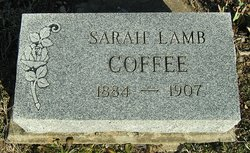 Sarah Jane <I>Lamb</I> Coffee