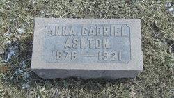 Anna <I>Gabriel</I> Ashton