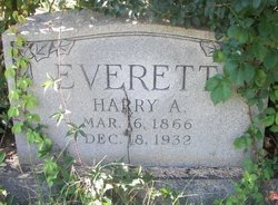 "Hartman Ambrose ""Harry"" Everett"
