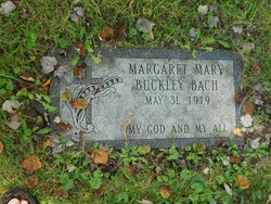 Margaret Mary <I>Buckley</I> Bach
